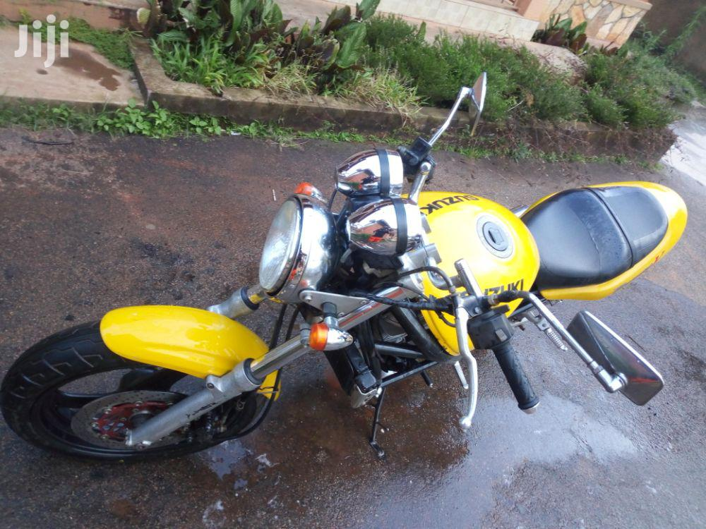 Suzuki Bandit 2007 Yellow   Motorcycles & Scooters for sale in Kampala, Central Region, Uganda