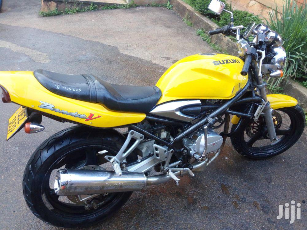 Suzuki Bandit 2007 Yellow