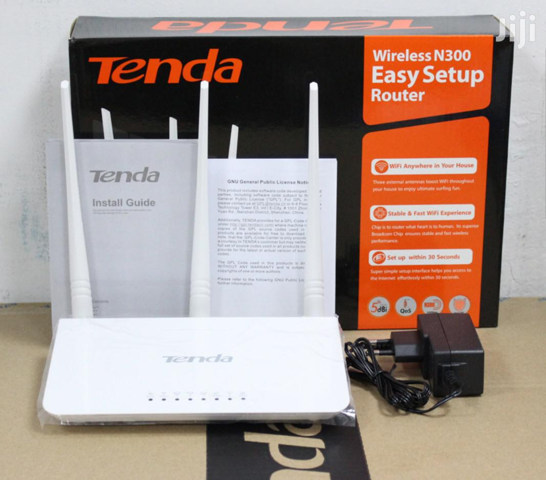 Tenda Wireless N300 Router | Networking Products for sale in Kampala, Central Region, Uganda