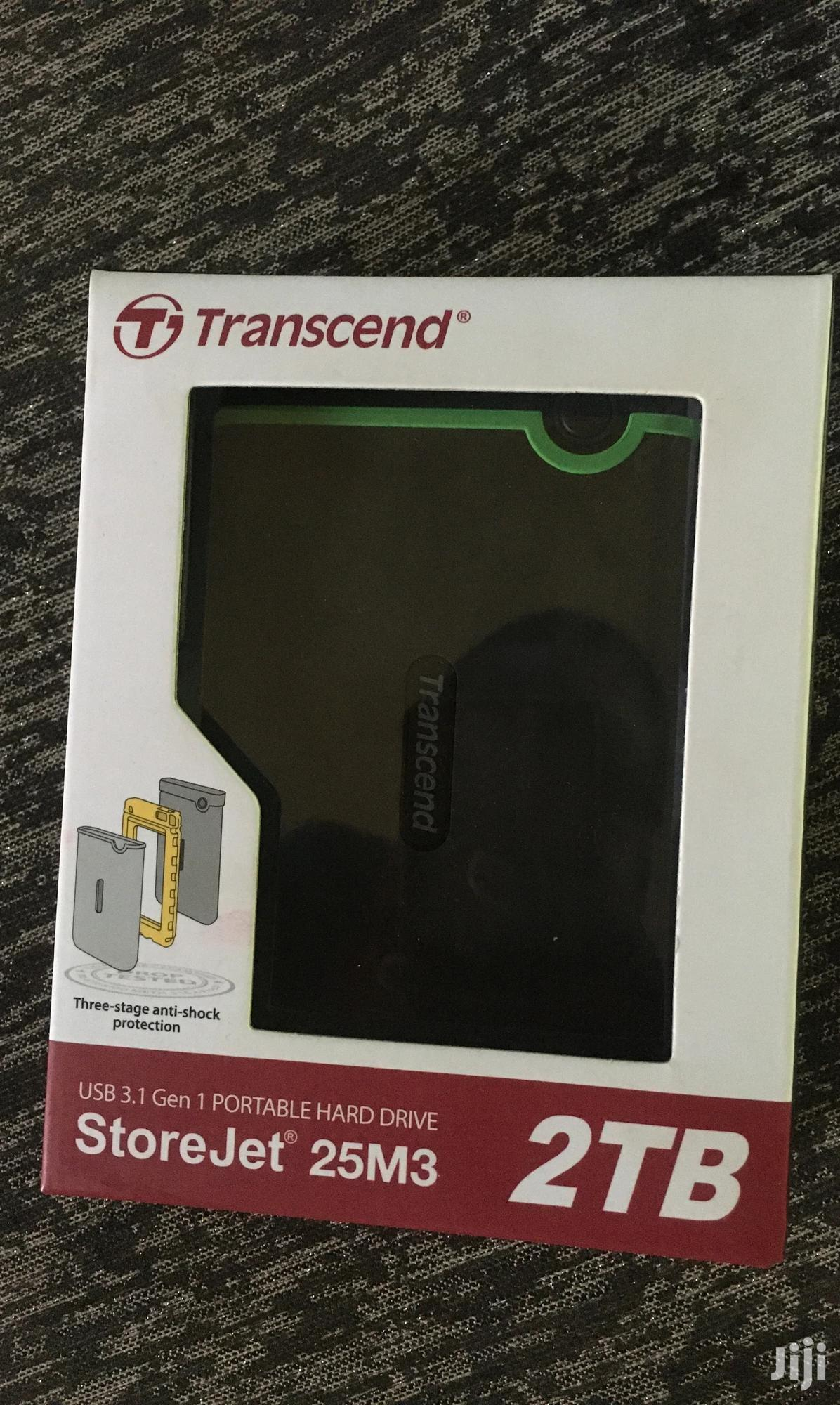 Transcend External Hard Drive 2TB