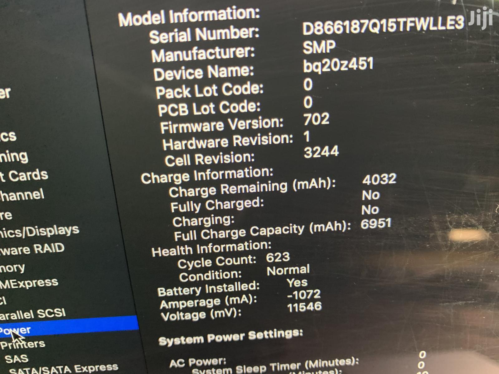 Laptop Apple MacBook Pro 16GB Intel Core i7 SSD 500GB | Laptops & Computers for sale in Kampala, Central Region, Uganda