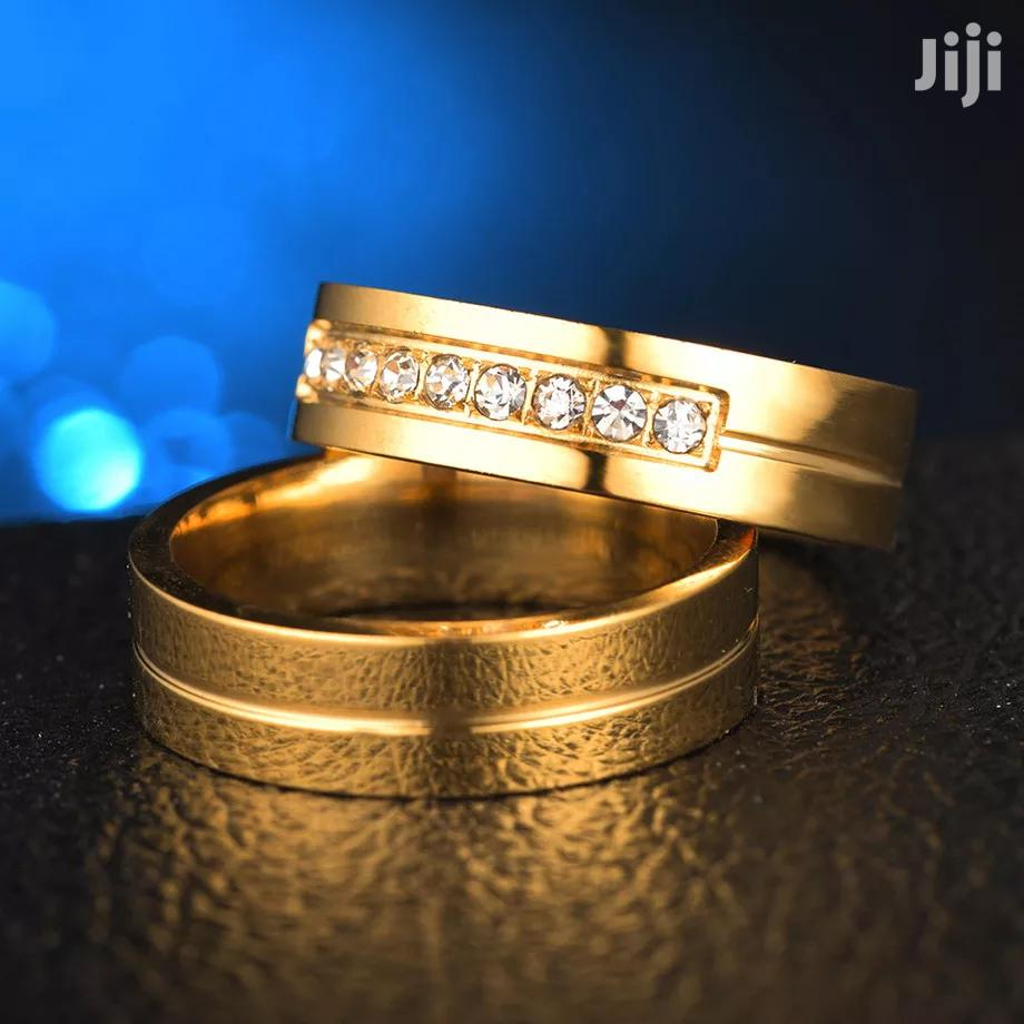 Luxury Gold Couple Rings