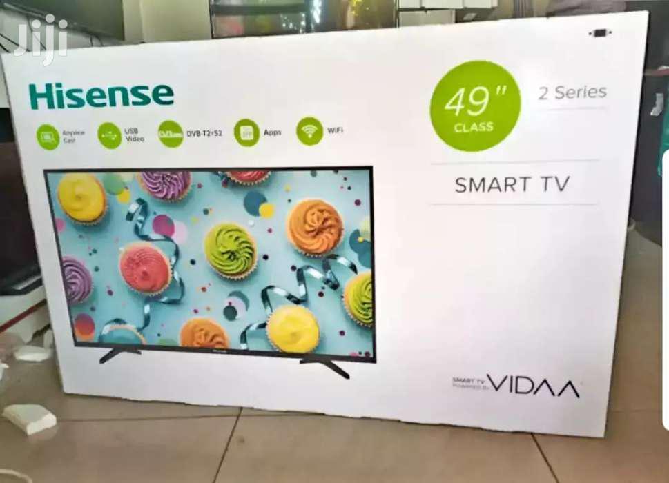 Hisense 49inches Smart Flat Screen TV