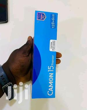 New Tecno Camon 15 Premier 128 GB Blue   Mobile Phones for sale in Central Region, Kampala