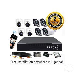 Uk Plus CCTV 8 Cameras Full Kit   Security & Surveillance for sale in Central Region, Kampala