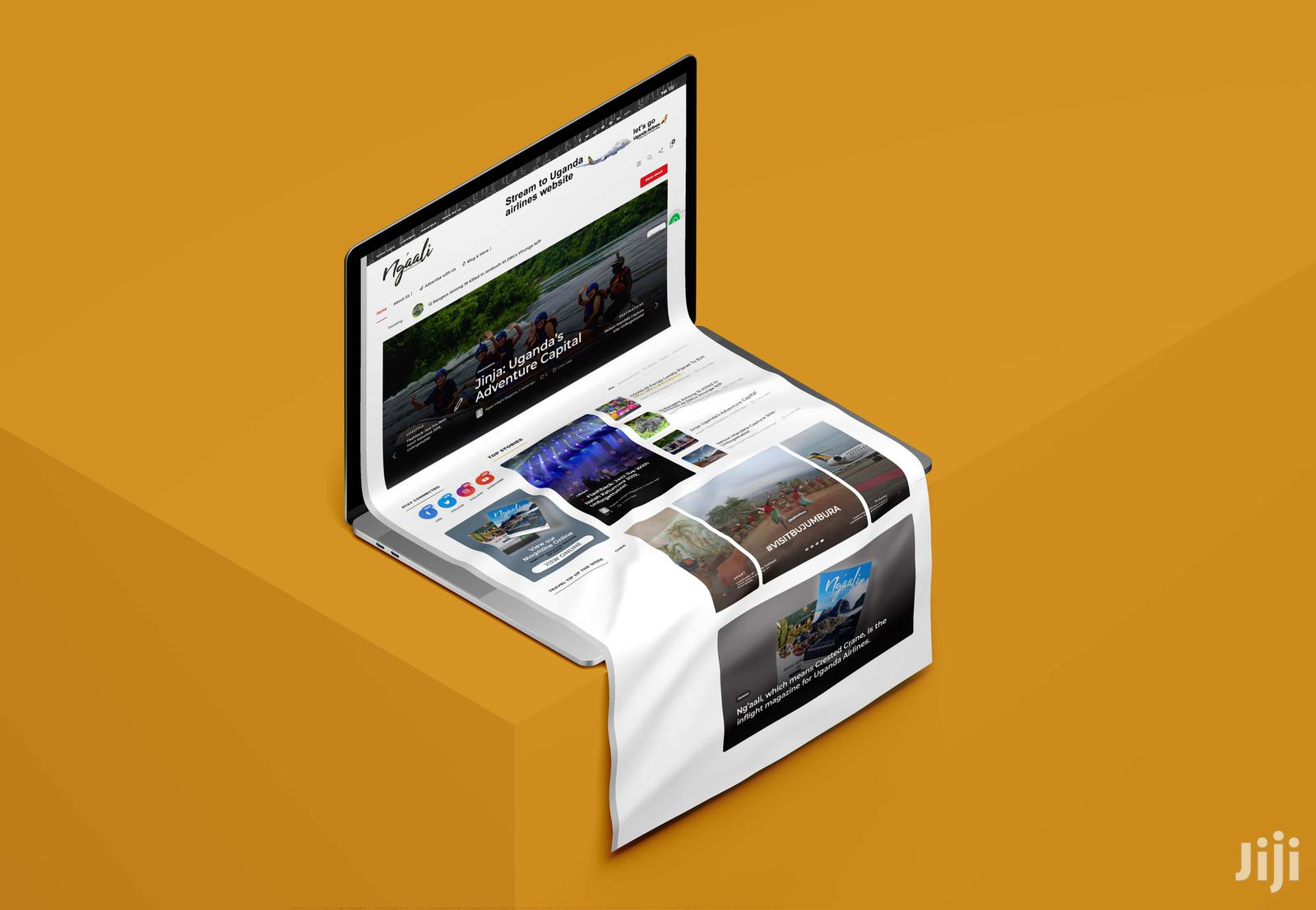 Web Design Hosting | Computer & IT Services for sale in Mukono, Central Region, Uganda
