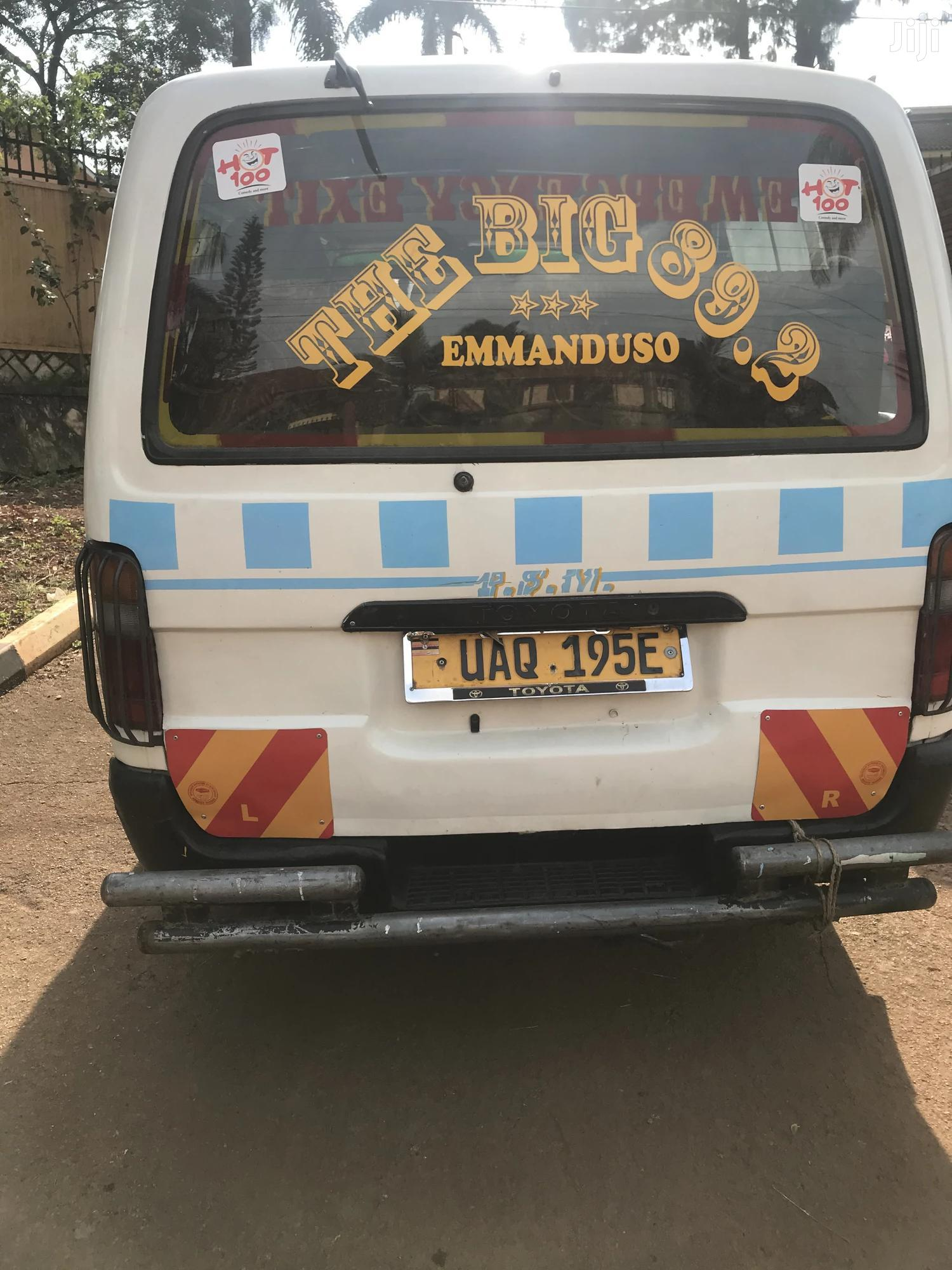 Toyota Hiace 1998 White   Buses & Microbuses for sale in Kampala, Central Region, Uganda