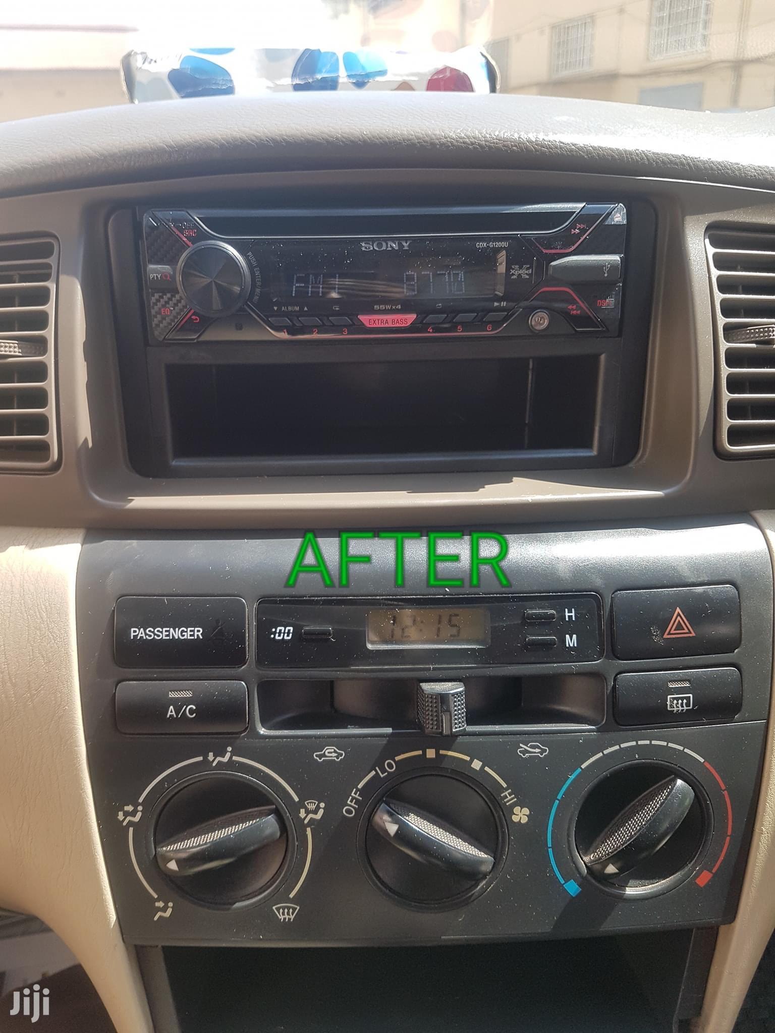 New Sony Car Radio