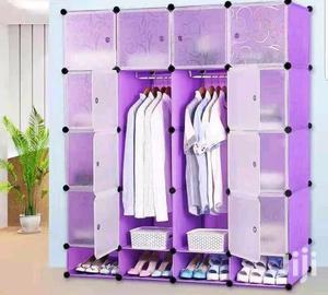 Purple Plastic Wardrobe | Furniture for sale in Central Region, Kampala