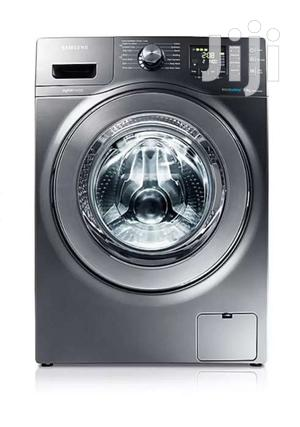Samsung WF906U4SAGD 9kg Eco Bubble Front Load Washing Machine - Grey