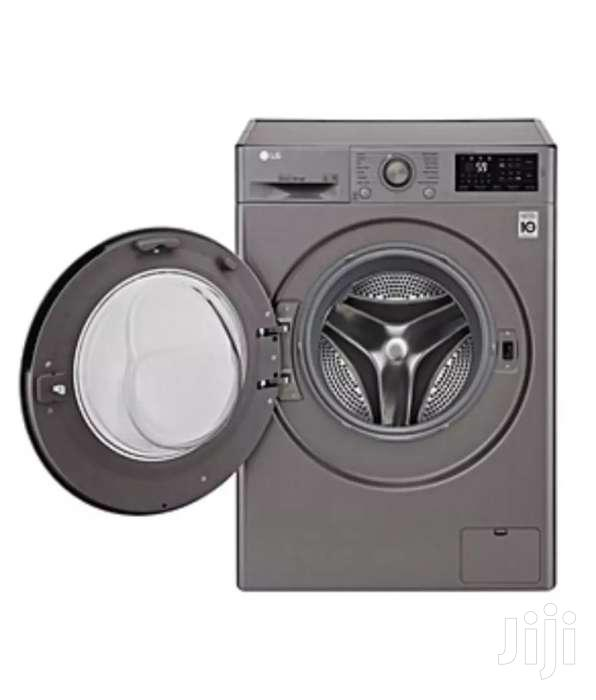 LG F4J5QNP7S Front Load 1200 RPM Washing Machine - 7kg - Silver