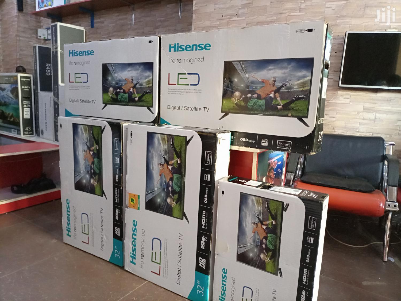 Hisense 32 Inches Digital/Satellite Flat Screen TV | TV & DVD Equipment for sale in Kampala, Central Region, Uganda