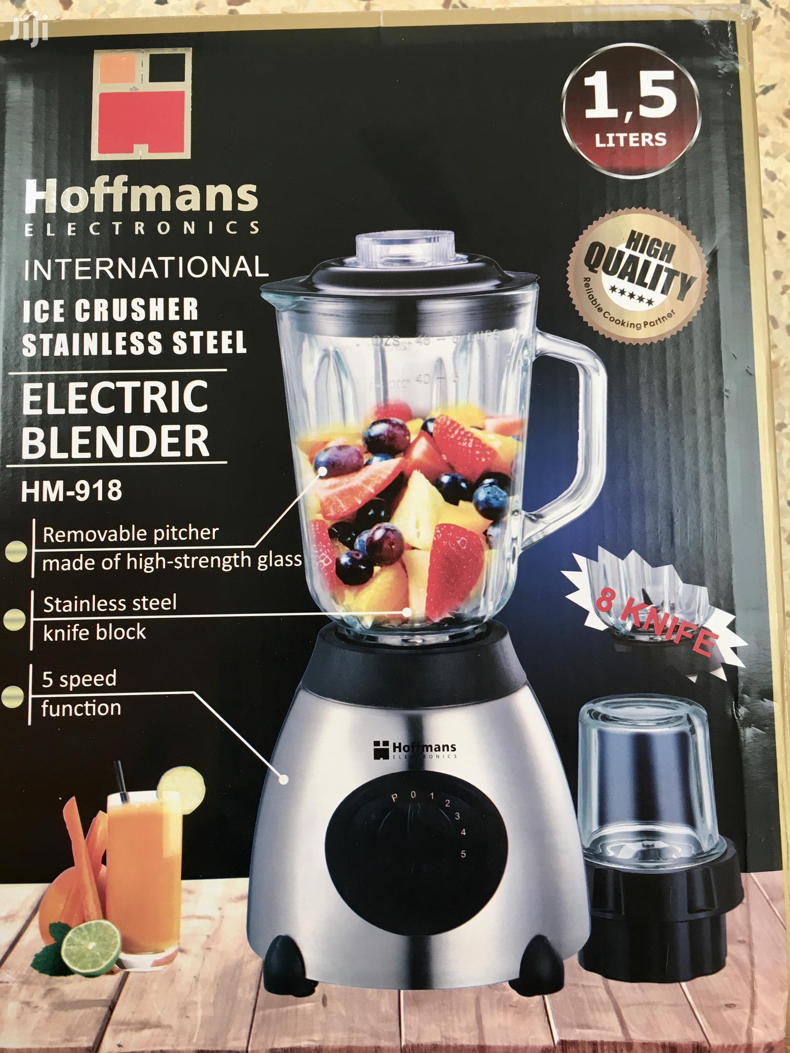 USA 🇺🇸 Made Hoffmans 2 in 1 Glass Blender