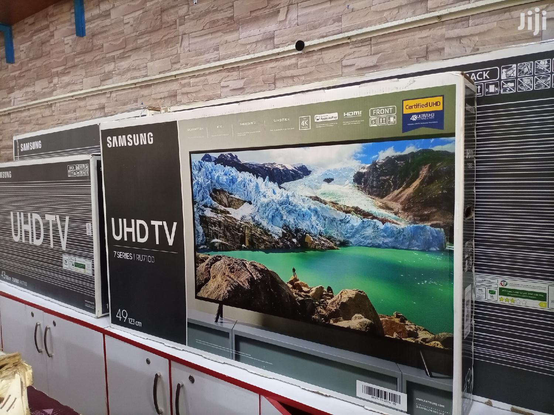 Samsung Smart Uhd Digital Flat Screen TV 49 Inches | TV & DVD Equipment for sale in Kampala, Central Region, Uganda