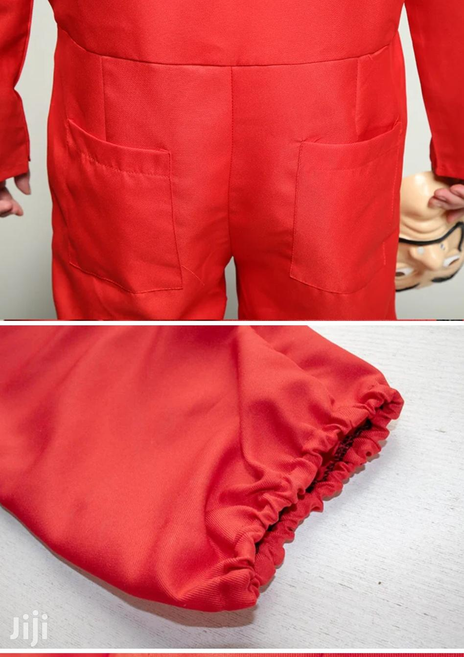 Money Heist La Casa De Papel Red Jumpsuit And Dali Mask Costume | Clothing for sale in Kampala, Central Region, Uganda