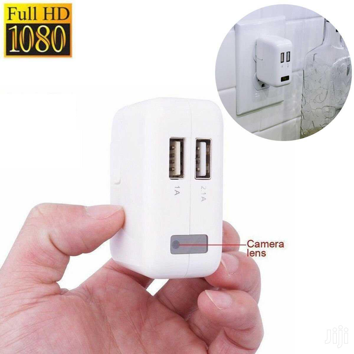USB Wall Charger HD Motion Hidden Spy Camera Charger