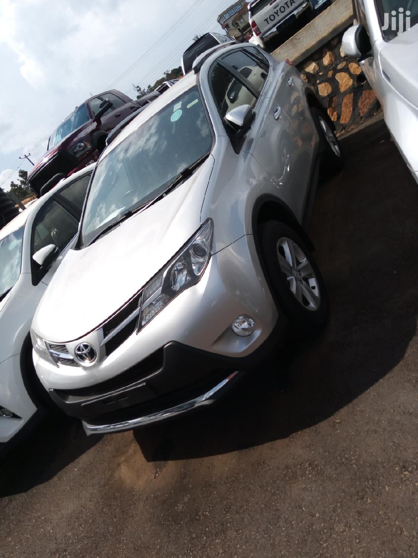Toyota RAV4 2014 Silver