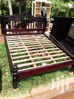 5 by 6 Classic Spindal Bed | Furniture for sale in Central Region, Kampala