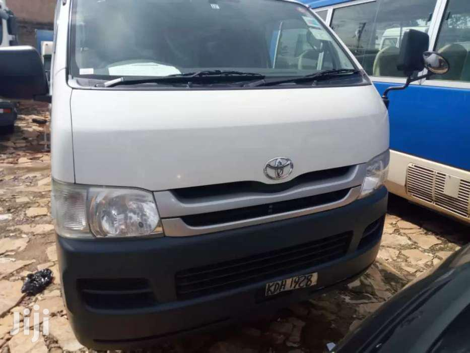 Toyota Hiace 2008 White | Buses & Microbuses for sale in Kampala, Central Region, Uganda