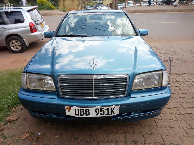 Mercedes-Benz C200 1998 Blue