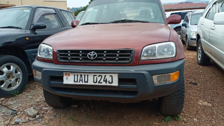 Toyota RAV4 1996 Red   Cars for sale in Kampala, Central Region, Uganda