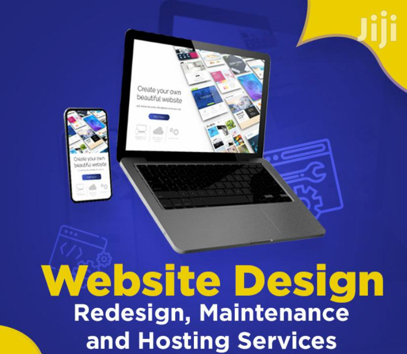 Get a Website or Website Redesign for Your Company | Computer & IT Services for sale in Kampala, Central Region, Uganda