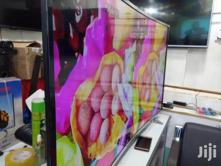 Samsung Curved Screen Tv 65 Inches | TV & DVD Equipment for sale in Kampala, Central Region, Uganda