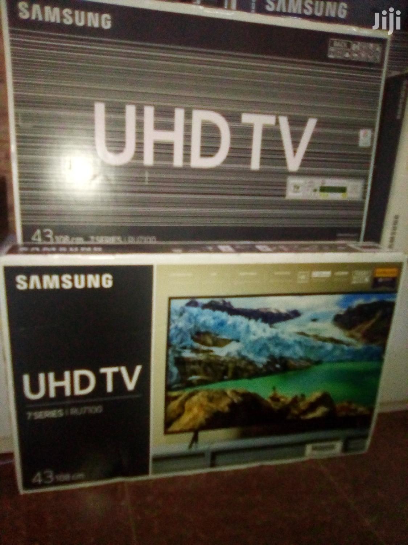 "Samsung 43"" Smart 4K UHD LED Tvs. Ultra Slim Samsung 7 Series Tvs | TV & DVD Equipment for sale in Kampala, Central Region, Uganda"