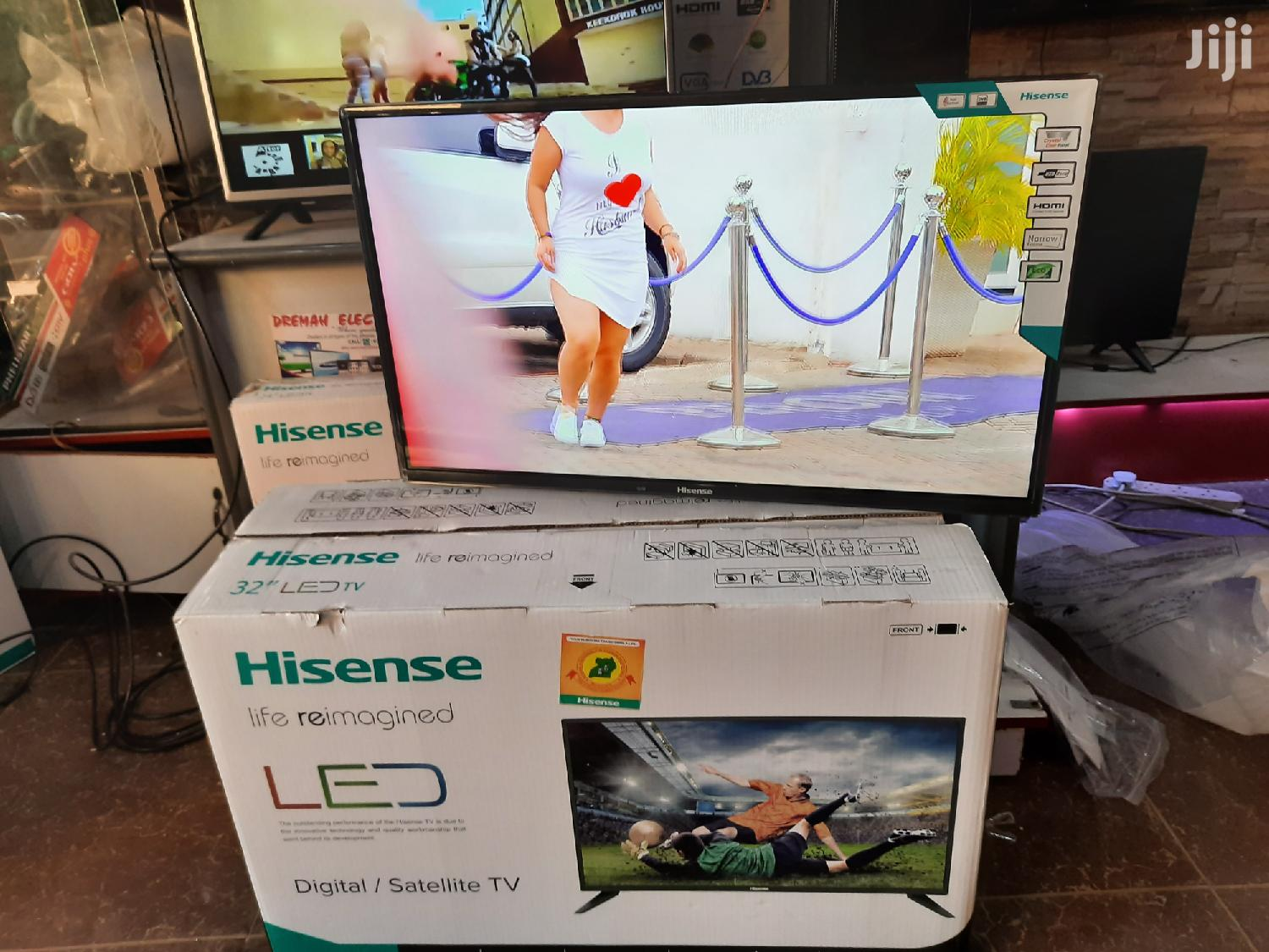 Hisense Digital Satellite Flat Screen TV 32 Inches