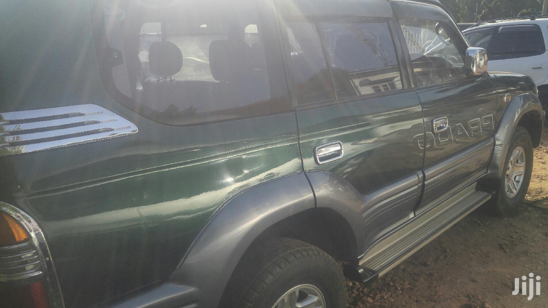 Toyota Land Cruiser Prado 1998 Green   Cars for sale in Kampala, Central Region, Uganda