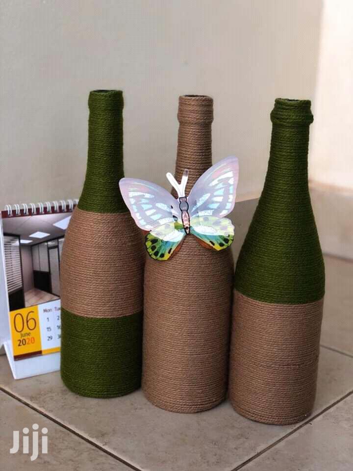 Beautiful Decorated Bottles | Arts & Crafts for sale in Kampala, Central Region, Uganda