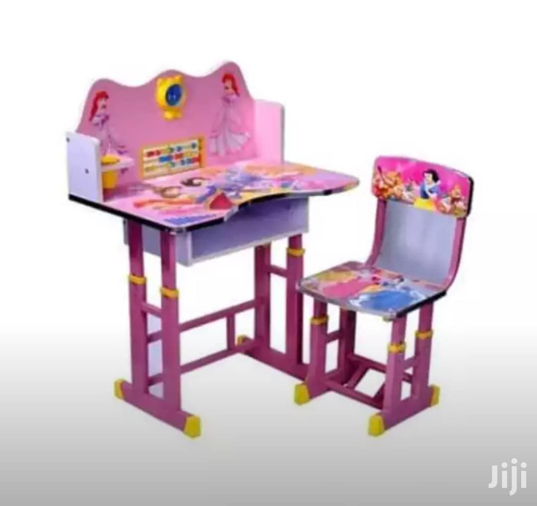 Kids Sturdy Table And Chair