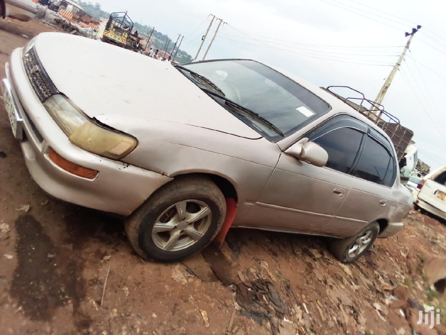 Archive: New Toyota Corolla 1995 Gold