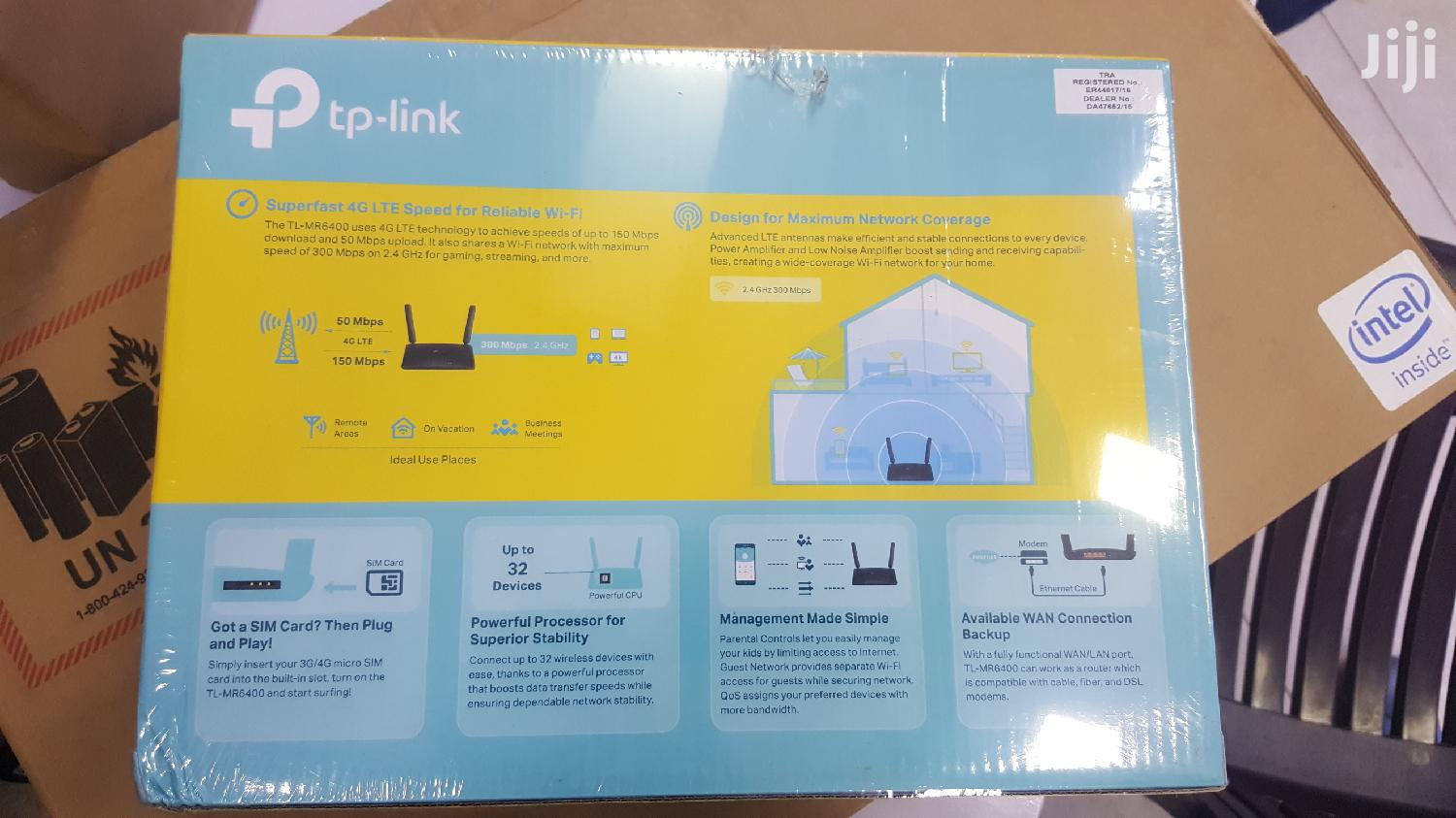 TP Link Sim Card Router MR 6400 | Networking Products for sale in Kampala, Central Region, Uganda