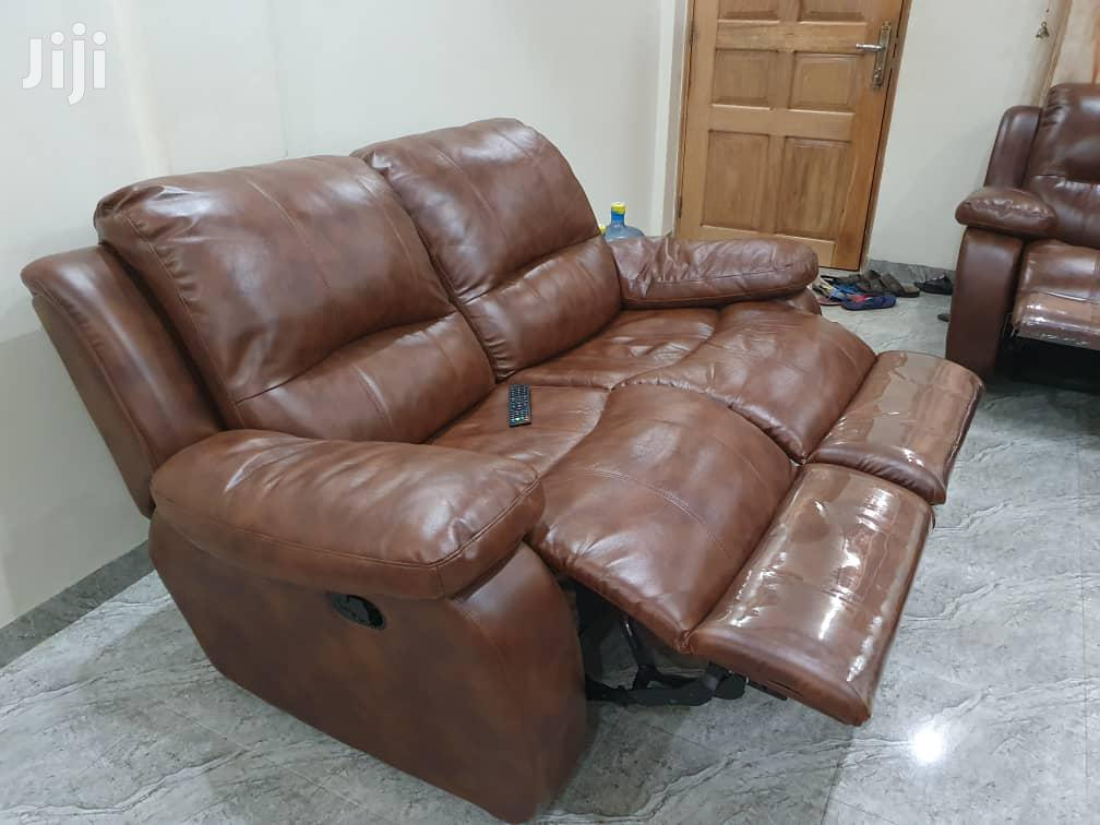 Quality Pure Leather Recliner