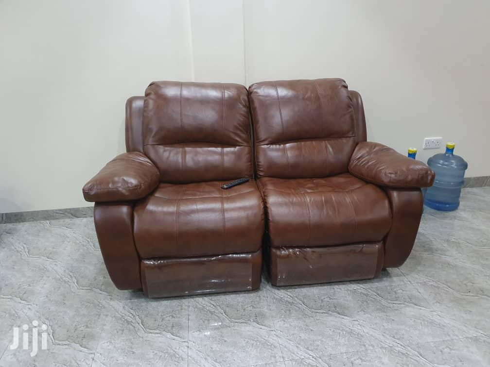 Quality Pure Leather Recliner | Furniture for sale in Kampala, Central Region, Uganda