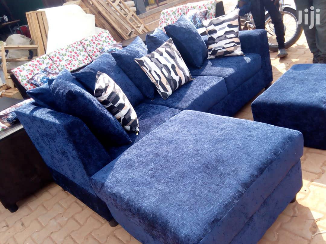 Blue Sofas