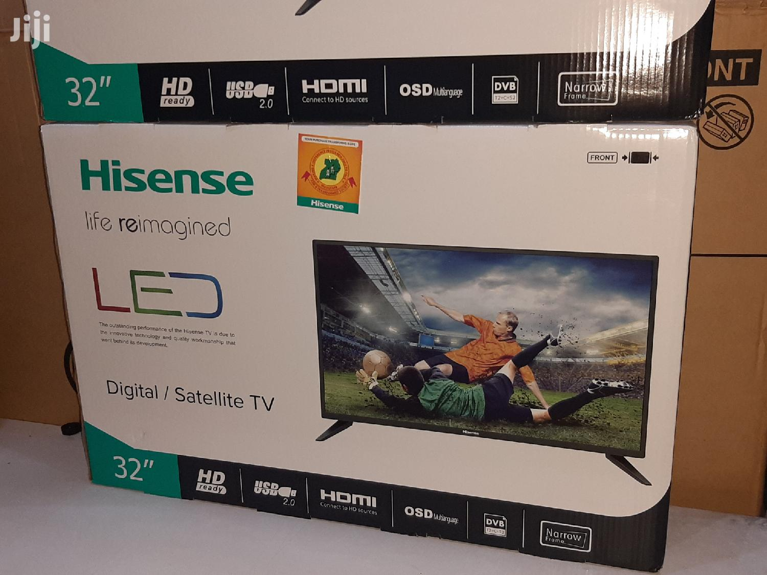 32inches Hisense Digital and Satellite TV | TV & DVD Equipment for sale in Kampala, Central Region, Uganda