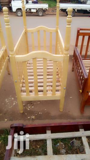 That Is Baby Cot With Net Poles   Children's Furniture for sale in Central Region, Kampala