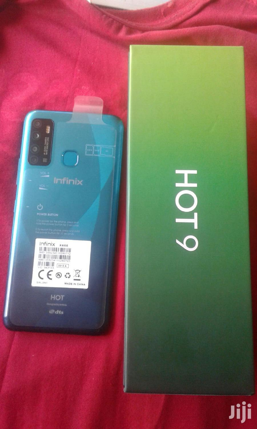 New Infinix Hot 9 32 GB Blue | Mobile Phones for sale in Kampala, Central Region, Uganda