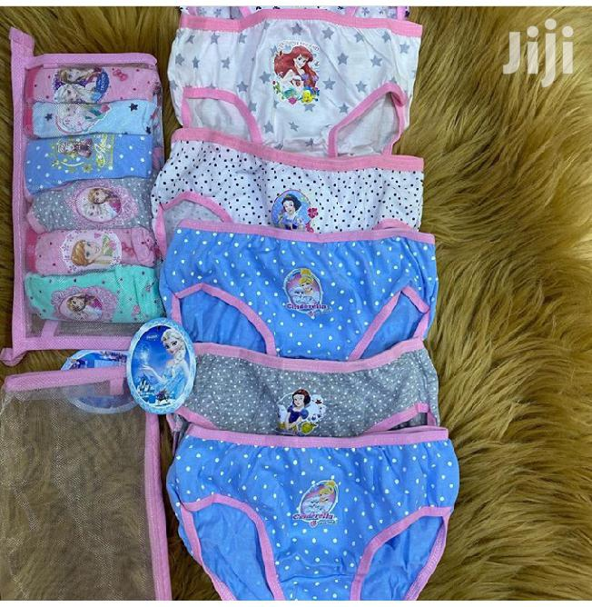 6piece Pack Girl Pants 0-10yrs