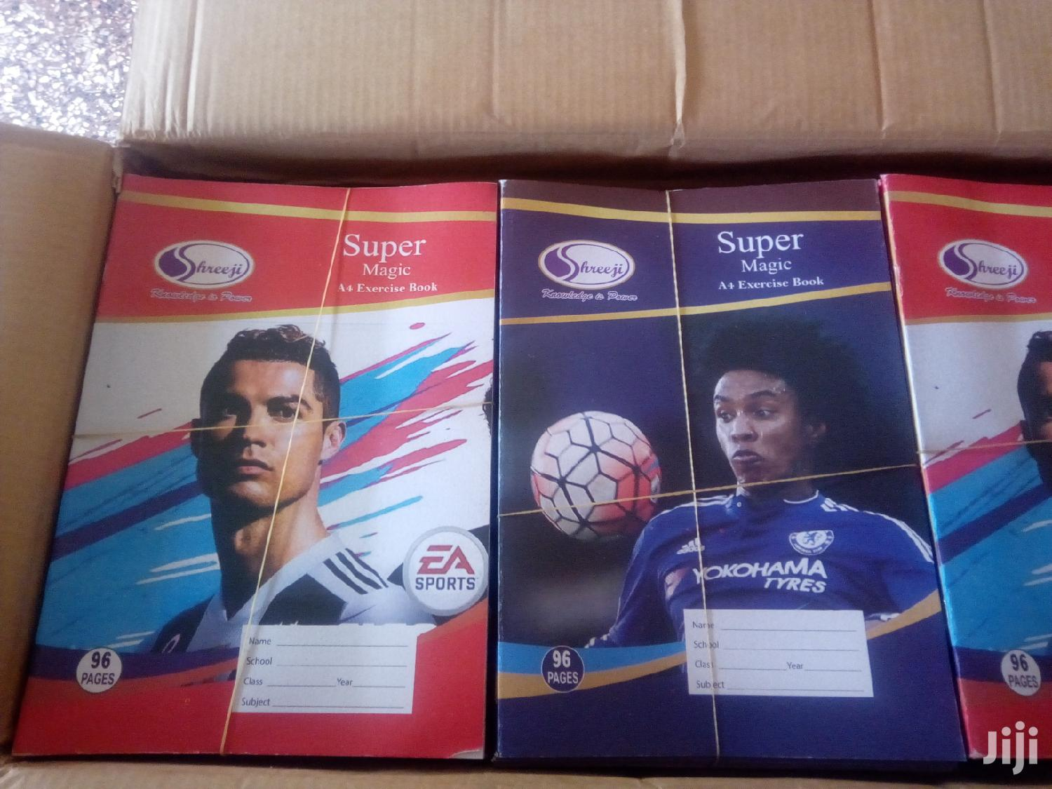 Archive: Super Magic Exercise Book 5cartons On Sale