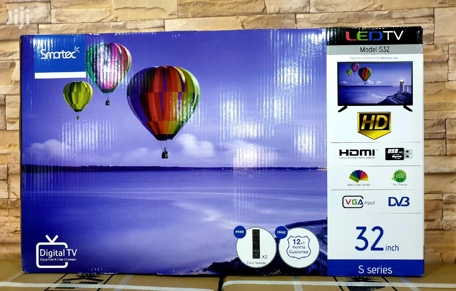 New Smartec LED Flat Screen TV 32 Inches