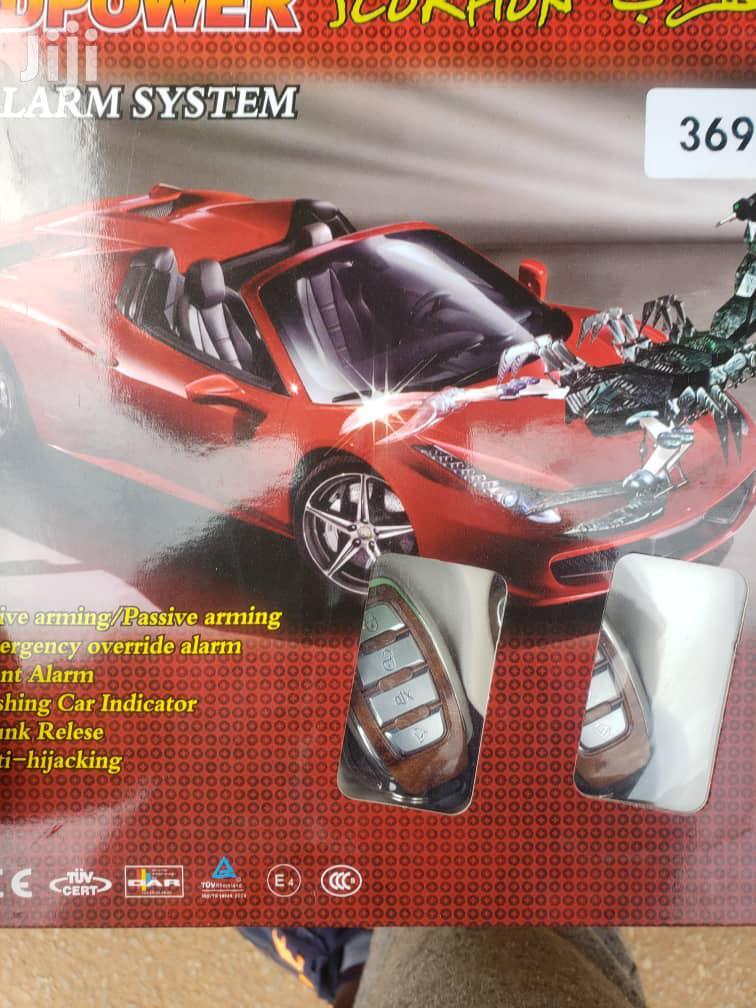Scorpion Car Alarm