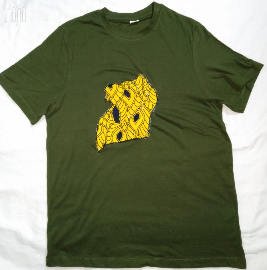 T Shirts With African Map | Clothing for sale in Kampala, Central Region, Uganda