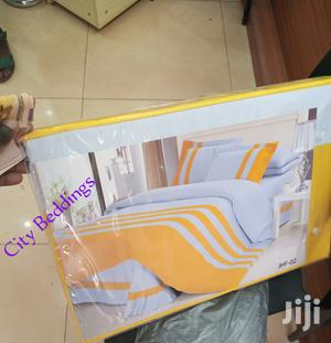 Dovet Cover Stripped Yellow White