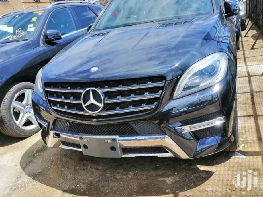 Archive: New Mercedes-Benz M Class 2013 Black