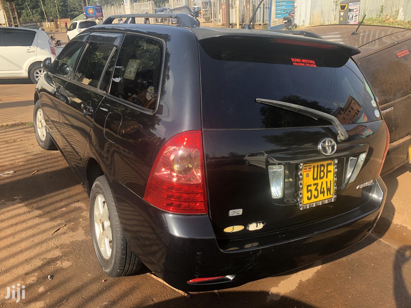 Toyota Fielder 2004 Black   Cars for sale in Kampala, Central Region, Uganda