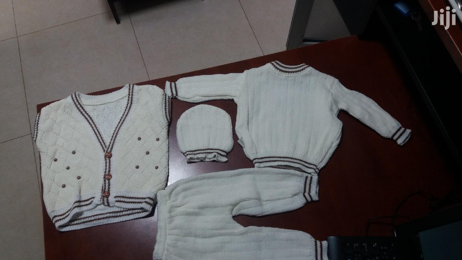 Archive: 3 Piece Baby Sweater Set