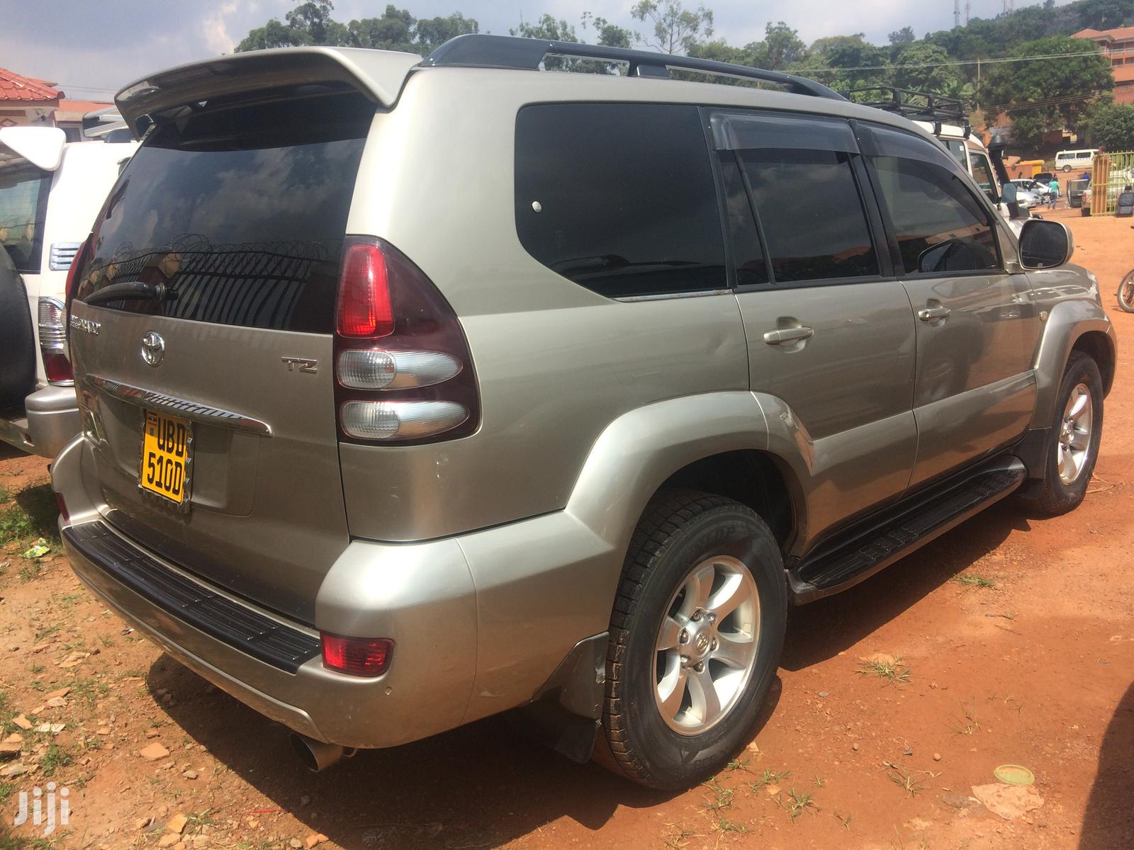 Toyota Land Cruiser Prado 2004 Gold   Cars for sale in Kampala, Central Region, Uganda
